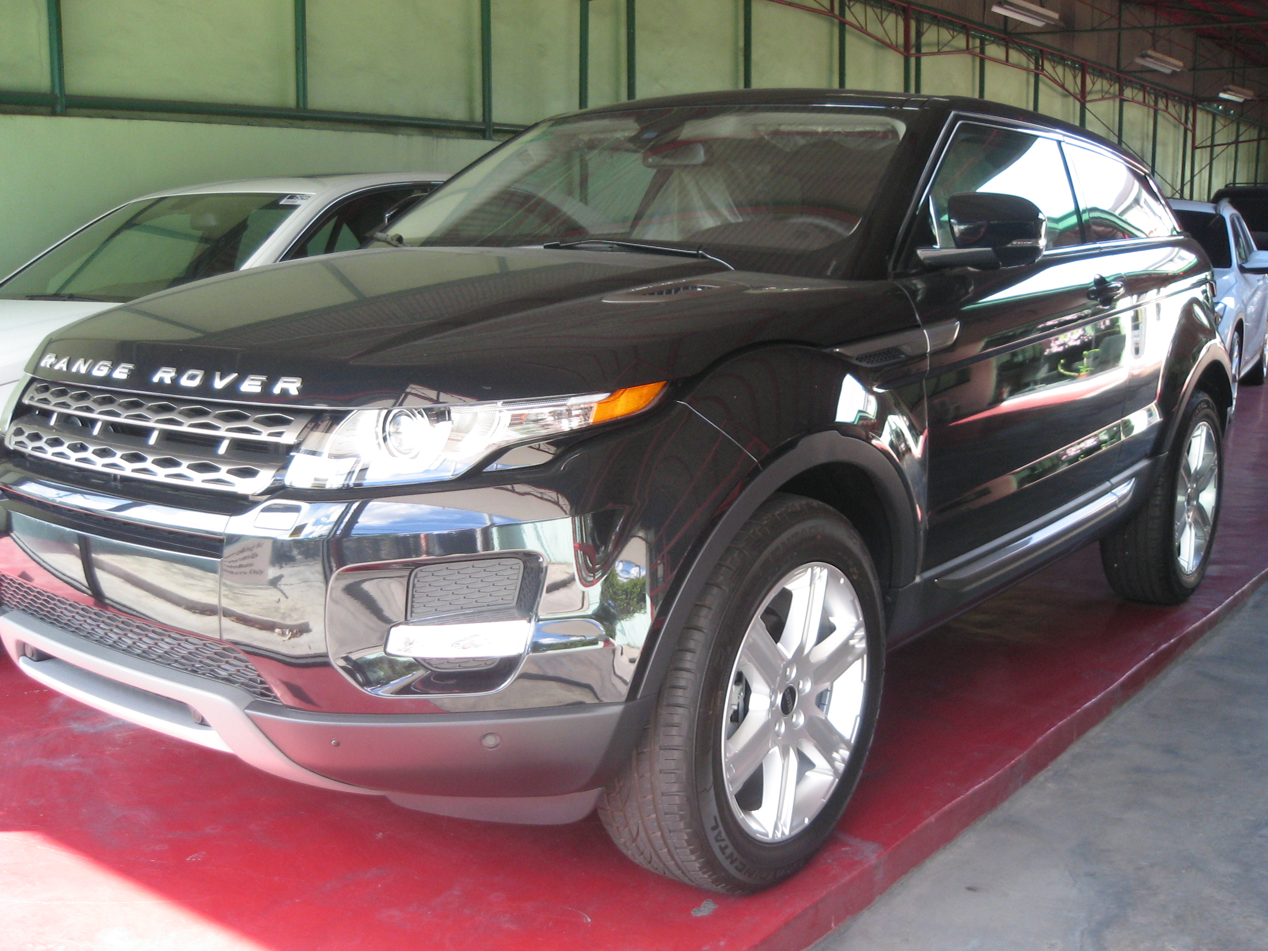 2012 Range Rover Evoque Pure Premium 2 Dr Coupe With