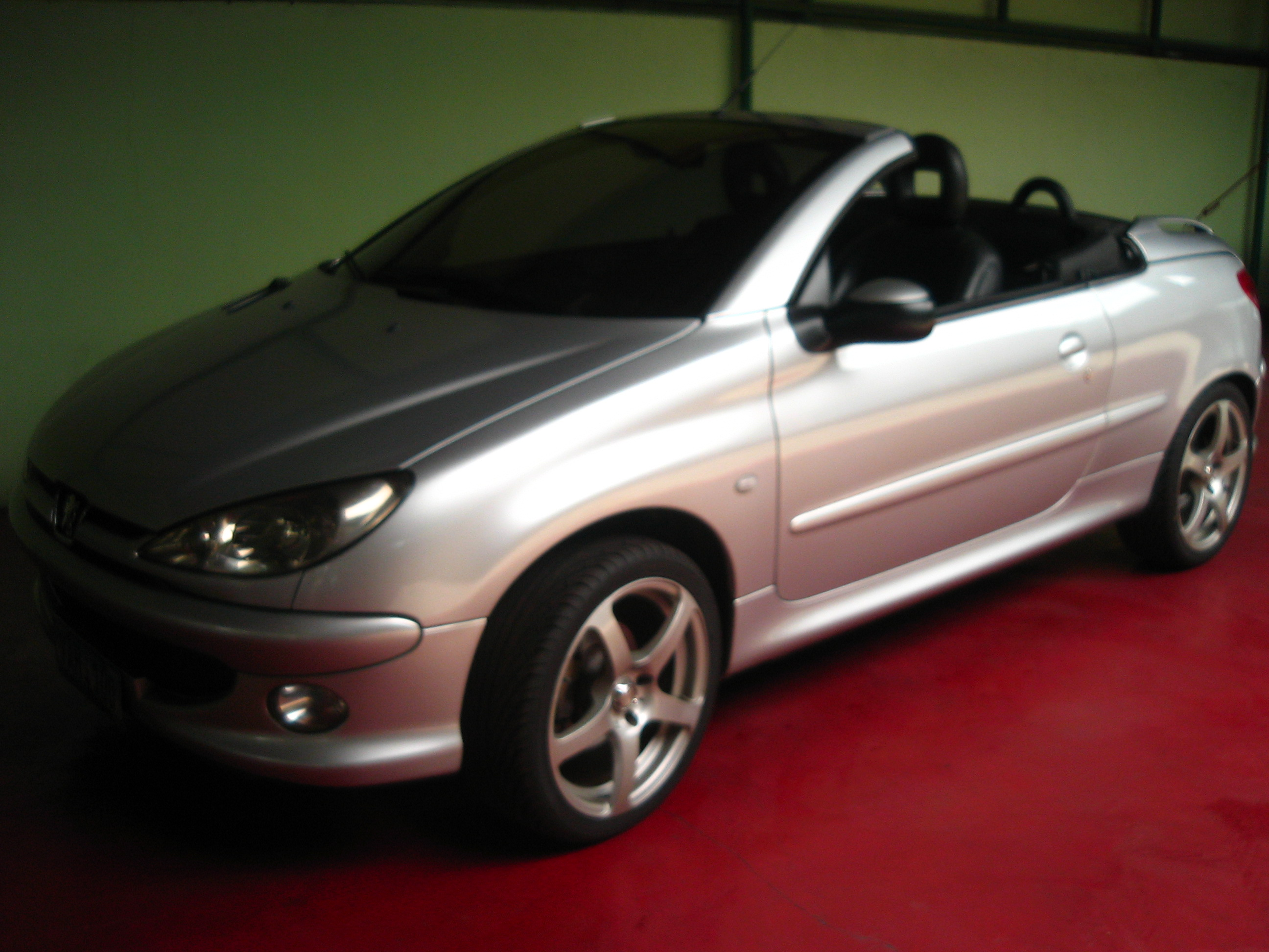 2005 Peugot 2-door convertible – Greenhills Autohaus Inc